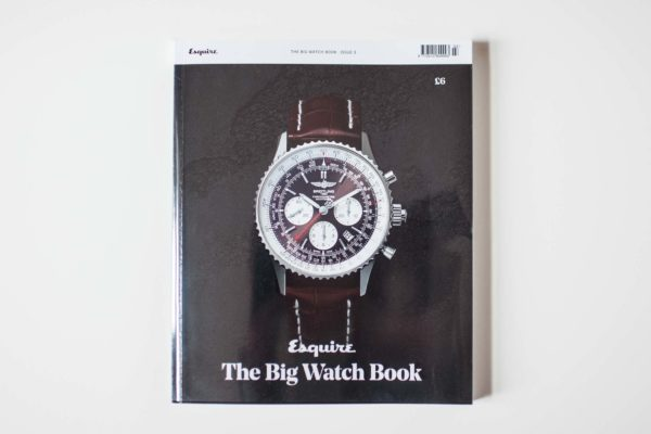 Esquire Big Watch Book includes Objest automatic watch