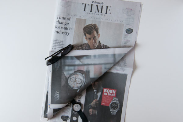 objest watch featured in the telegraph