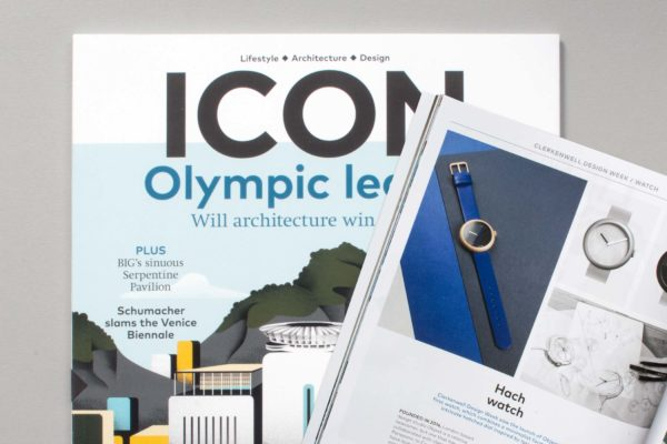 Objest featured in Icon Eye print magazine